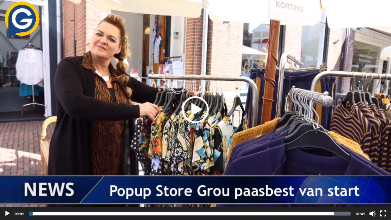Bekijk deze video van de pop-up store in Grou